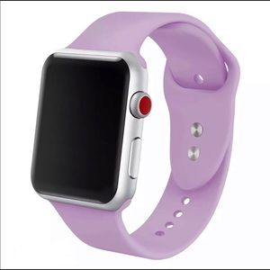 ⌚️2for$25 Lilac silicone BAND for Apple iWatch